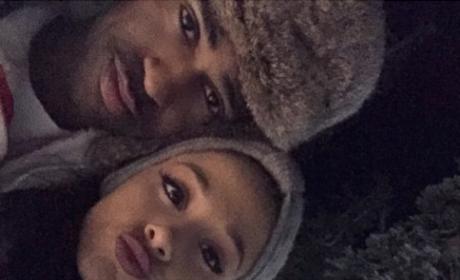 Ariana Grande and Big Sean Split Rumors: Quashed By PDA Pics!