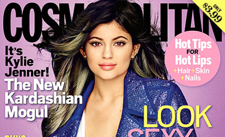 Kylie Cosmo Cover