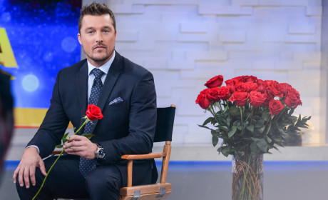 Chris Soules With a Rose