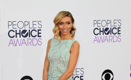 Giuliana Rancic at the People's Choice Awards