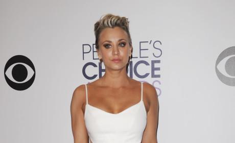 Kaley Cuoco at the People's Choice Awards