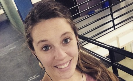 Jill Duggar Posts Makeup-Free Gym Selfie: What Does She Listen to While Working Out?
