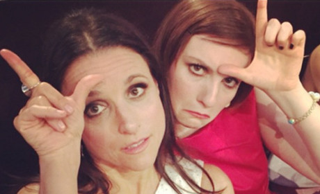 Julia Louis-Dreyfus and Lena Dunham