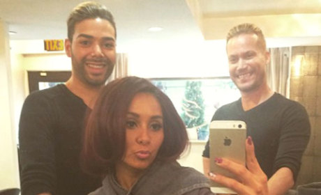 Snooki Chops Off LOTS of Hair, Becomes Even More Unrecognizable