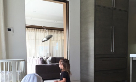 Kourtney Kardashian Shows Off Adorable Children, Makes It Impossible to Mock Her