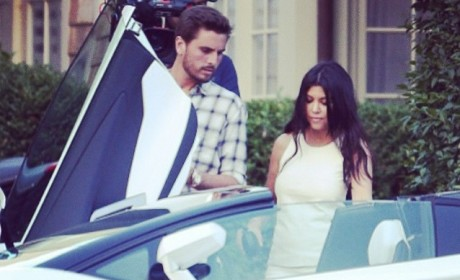 Scott Disick Hints at Drug Use With Wolf of Wall Street Reference?
