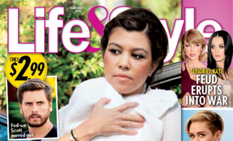 Kourtney Kardashian: Dumped 20 Days After Giving Birth?!?