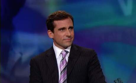 Steve Carell on The Daily Show