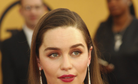 Emilia Clarke at the SAG Awards