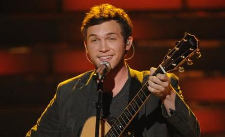 Phillip Phillips on Idol
