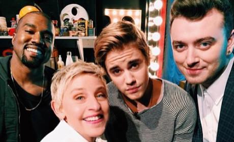 Ellen DeGeneres Post Another Epic Selfie: Who's In It?