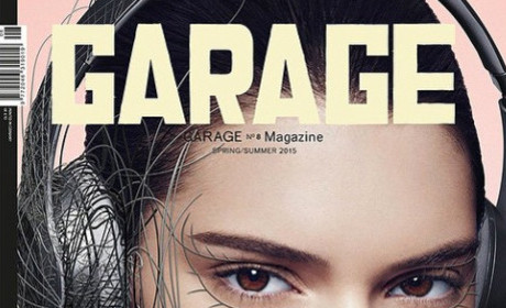 Kendall Jenner Covers Garage (Which is Apparently a Magazine)