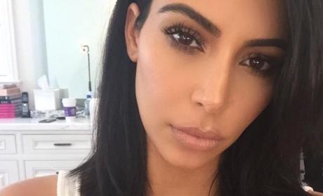 Kim Kardashian Cuts Off Hair, Actually Wears Clothing