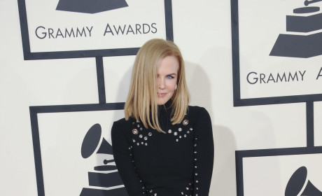 Nicole Kidman at the 2015 Grammys