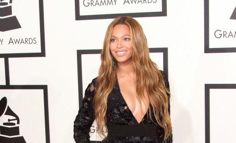 Beyonce at the 2015 Grammys