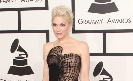 Gwen Stefani at the 2015 Grammys