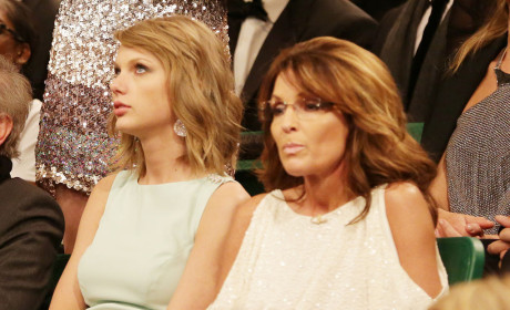 Taylor Swift and Sarah Palin