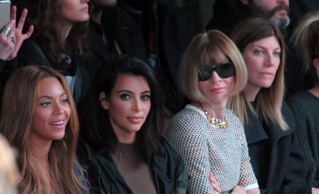 Anna Wintour, Kim Kardashian Photo
