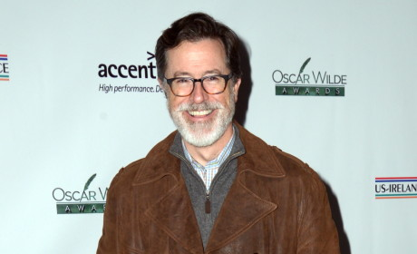 Stephen Colbert Debuts Epic Wizard Beard; Internet Goes Wild!
