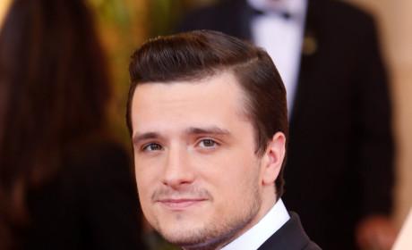Josh Hutcherson at the 2015 Oscars