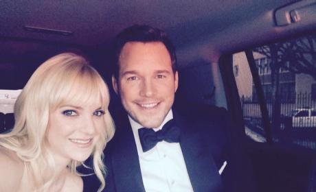Chris Pratt and Anna Faris: Oscars Bound!