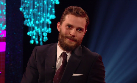 Jamie Dornan at The Graham Norton Show