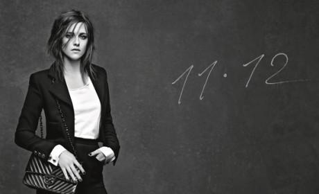 Kristen Stewart Shills for Chanel: See Her Handbag Ad!
