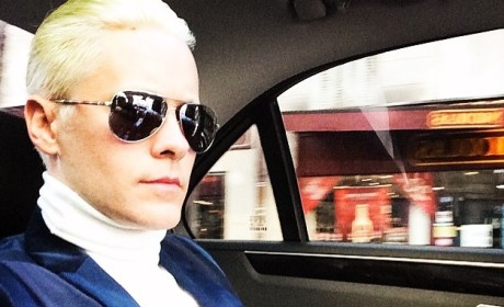 Jared Leto Blonde Photo