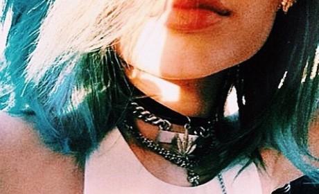 Kylie Jenner Rocks Pot Leaf Necklace, Gets Philosophical on Instagram