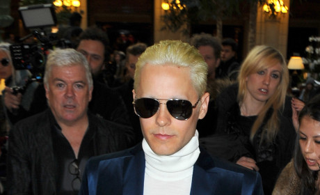 Jared Leto Goes Blonde