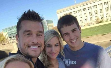 Chris Soules and Whitney Bischoff with Fans