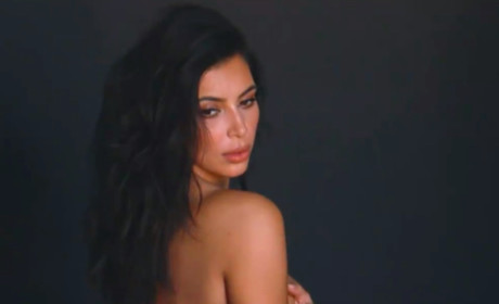 Kanye West Tweets Nude Kim Kardashian Photos: I'm So Lucky!