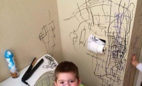 17 Kids Who Totally Didn't Make That Mess
