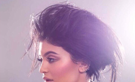 Kylie Jenner with Big Hair