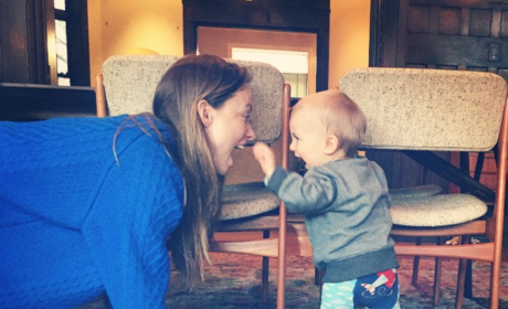 Olivia Wilde Plays with Son in Cutest… Baby… Photo… EVER!
