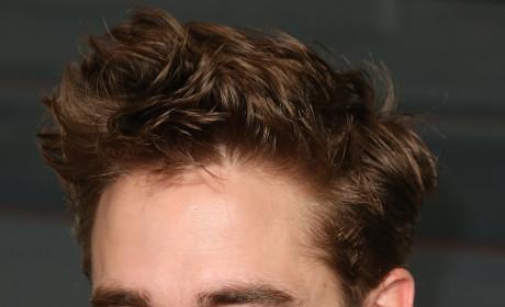 Robert Pattinson with a Smirk