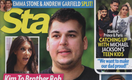 Rob Kardashian Weighs 350 Pounds, Spends His Days Popping Pills and Befriending Porn Stars on Twitter, Tabloid Claims