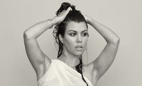 Kourtney Kardashian Nude DuJour Photos