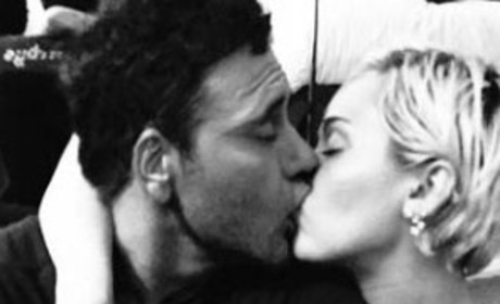 Miley Cyrus Making Out Photo