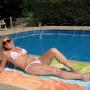 Candice Houlihan Bikini Photos Make a Splash