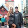 Courtney Stodden and Doug Hutchison Strike Pose