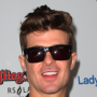Robin Thicke Celebrates Divorce With Leonardo DiCaprio, Tom Hardy