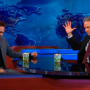 Robert Pattinson and Jon Stewart