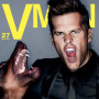 Tom Brady VMAN Cover