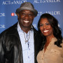 Michael Clarke Duncan and Omarosa