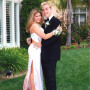 Danielle-fishel-and-lance-bass-prom-photo