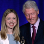 Bill Clinton Named Father of the Year, Presented Award By Chelsea