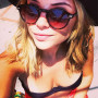 Ashley Benson Instagrams Selfie: Look at My Cleavage!