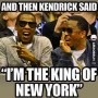 "Diddy Mocks Kendrick Lamar, ""King of New York"" Claim on Instagram"