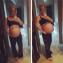 Kim Zolciak Baby Bump Photo